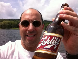 Yes, I'm Drinking a Bottle of Schlitz