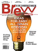 Brew Your Own Magazine March-April 2014 Cover