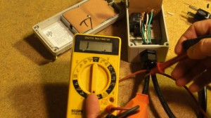 Wire Test with a Multi-Meter
